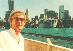 Ture Sjolander in Sydney 1982. Photo: AnnChristine.